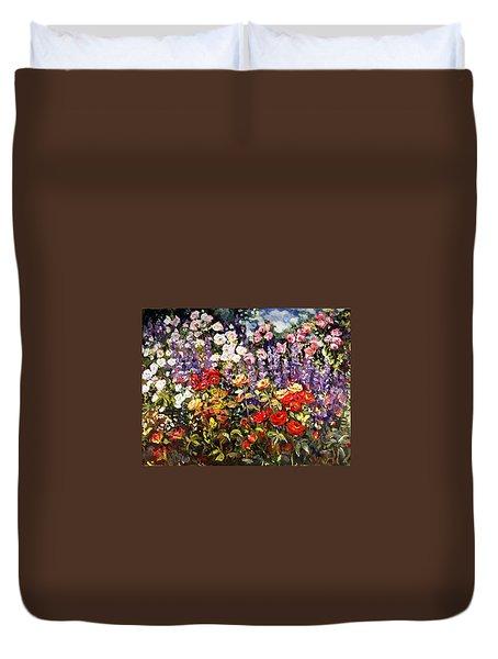 Summer Garden II Duvet Cover
