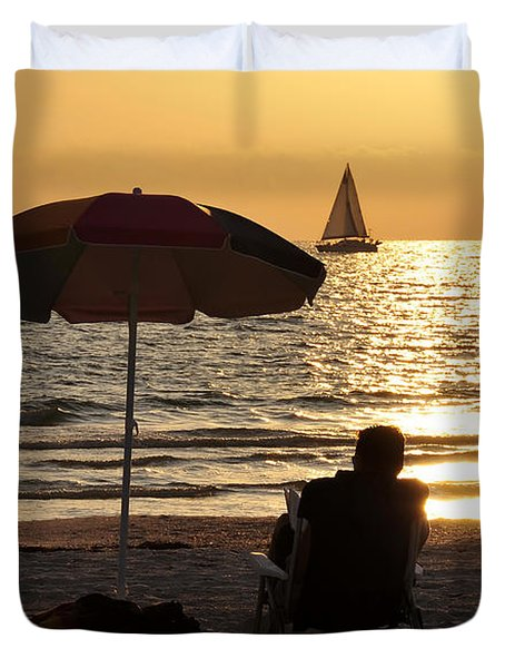 Summer Get Away Duvet Cover by David Lee Thompson