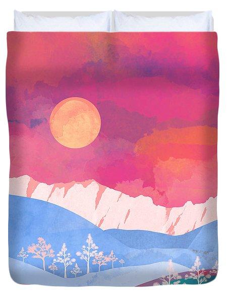 Summer Glow Duvet Cover