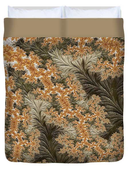 Summer Gold Duvet Cover