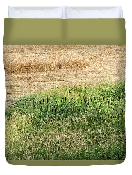 Summer Grasses -  Duvet Cover