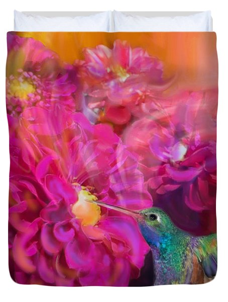 Summer In Full Bloom  Duvet Cover