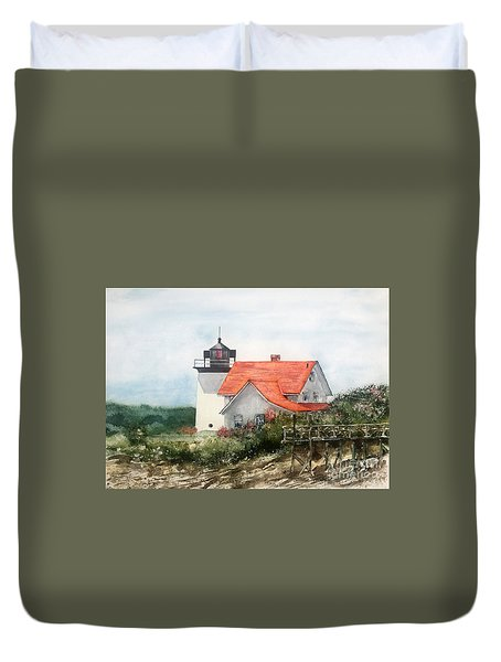 Summer In Maine Duvet Cover