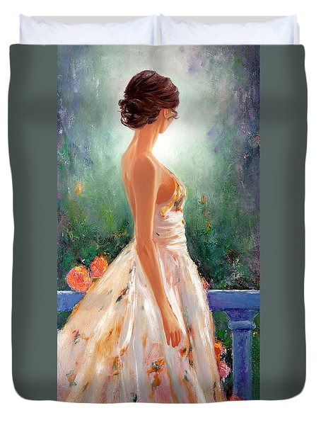 Summer In Provence Duvet Cover