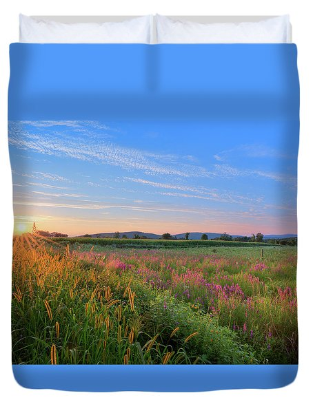 Summer In The Hills 2017 Duvet Cover