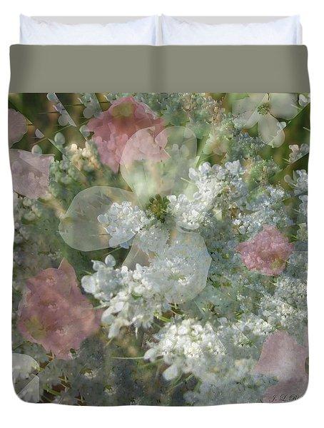 Summer Lace Duvet Cover