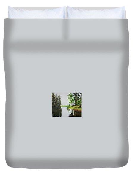 Summer Lake Duvet Cover