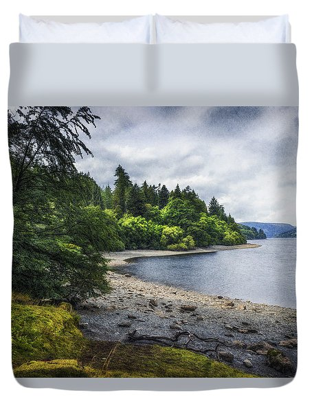 Summer Lake Memories Duvet Cover