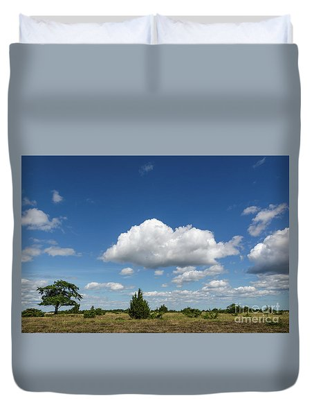 Summer Landscape Duvet Cover