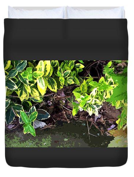 Summer Leaves Duvet Cover