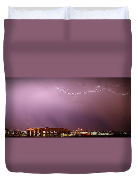 Summer Lightning Duvet Cover