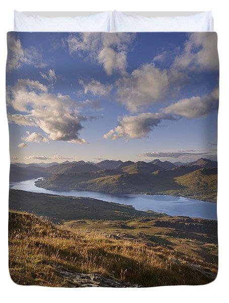 Summer, Loch Katrine 2 Duvet Cover