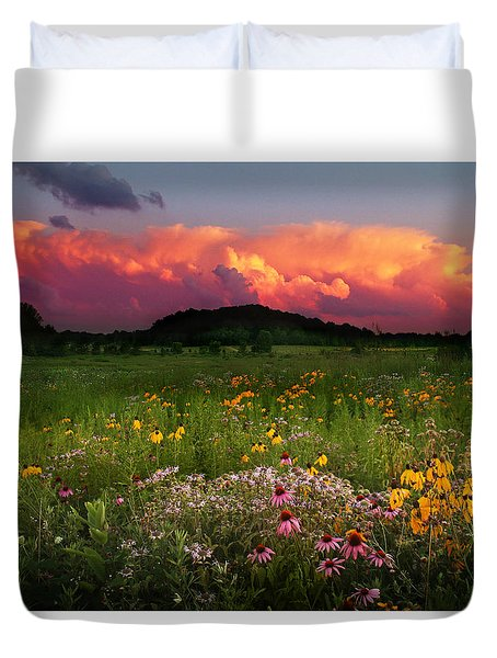Summer Majesty Duvet Cover