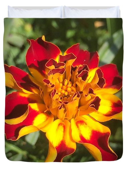 Summer Marigold Duvet Cover