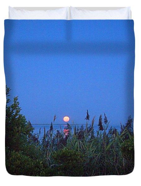 Summer Moon Duvet Cover
