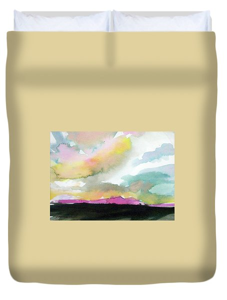 Summer Monsoon Duvet Cover by Ed Heaton