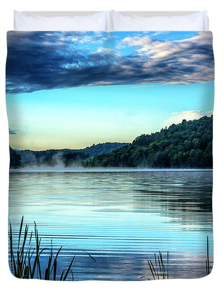Summer Morning On The Lake Duvet Cover