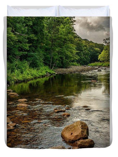 Summer Morning Williams River Duvet Cover