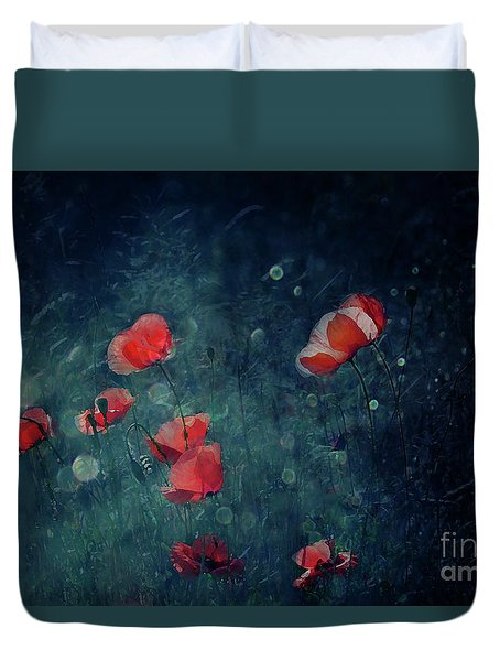 Summer Night Duvet Cover by Agnieszka Mlicka