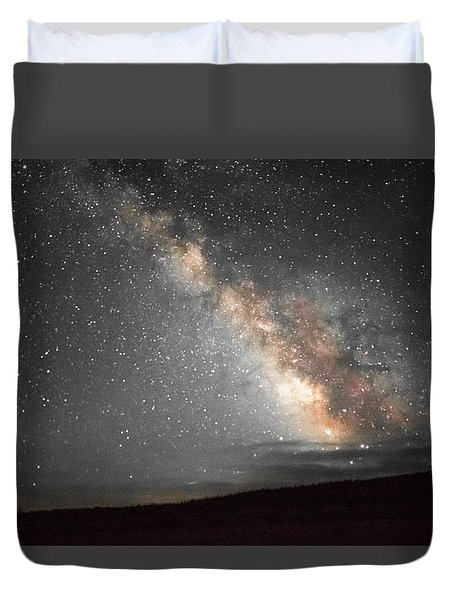 Summer Night Light Duvet Cover
