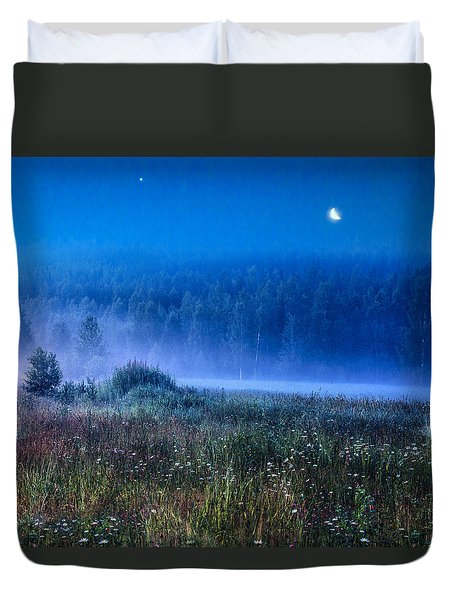 Summer Night Duvet Cover