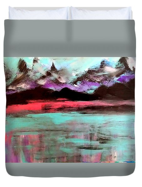 Summer Nights Duvet Cover