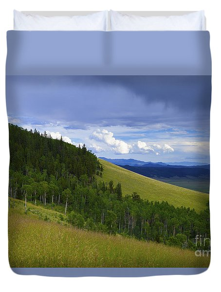 Summer On Kenosha Pass Duvet Cover
