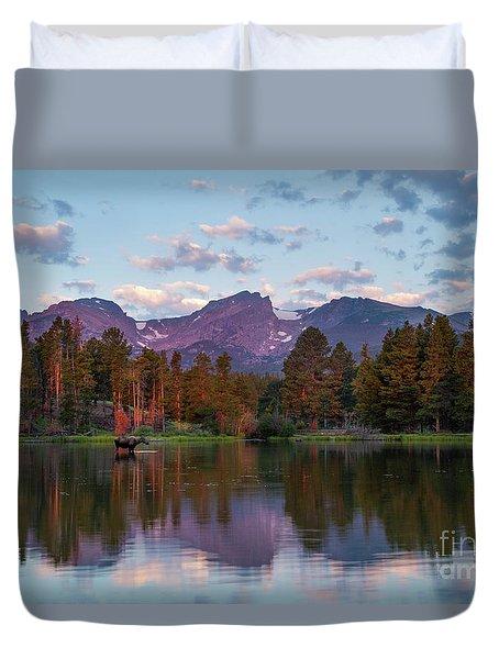 Summer On Sprague Lake Duvet Cover
