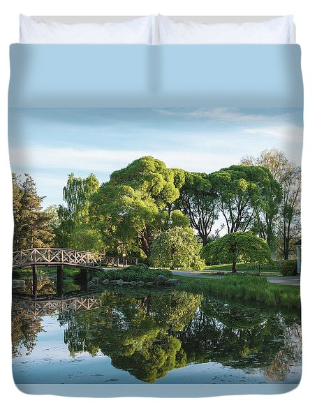 Summer Park Duvet Cover