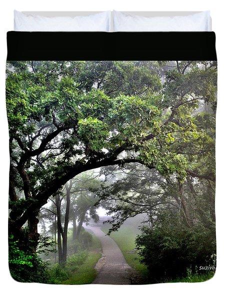 Summer Path  Duvet Cover
