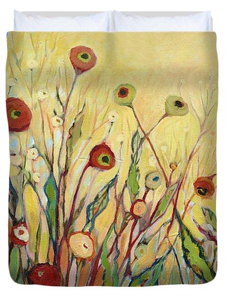 Summer Poppies Duvet Cover