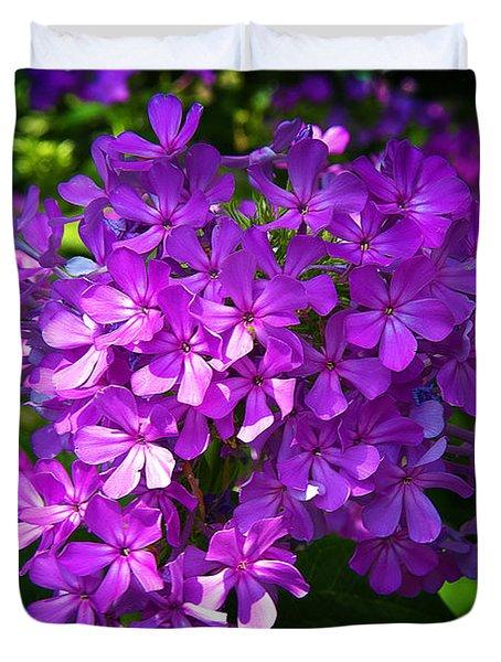 Summer Purple Duvet Cover