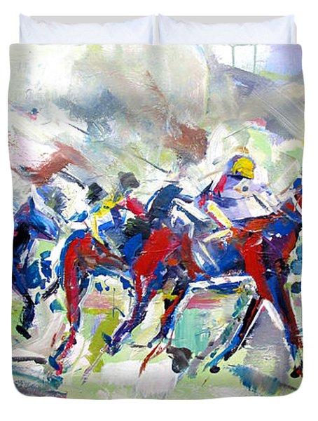 Summer Race Duvet Cover