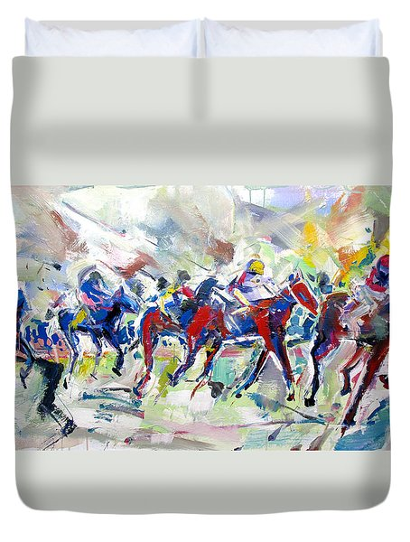 Summer Race Duvet Cover
