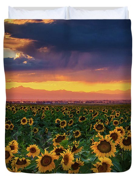 Summer Radiance Duvet Cover