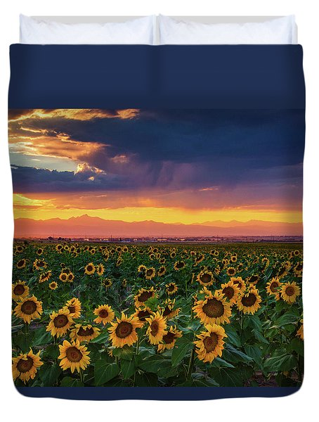 Summer Radiance Duvet Cover