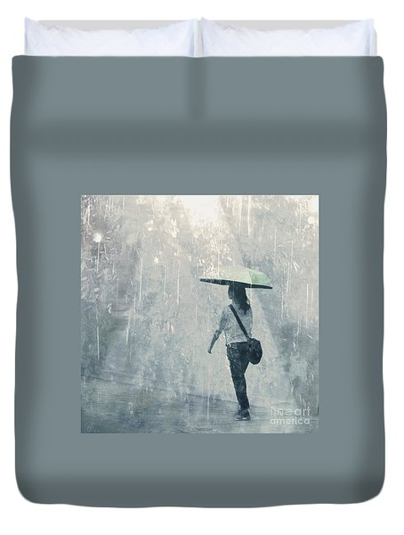 Summer Rain Duvet Cover