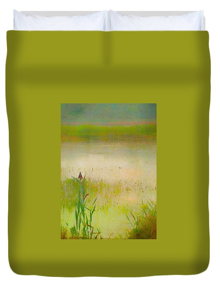 Summer Reeds Duvet Cover