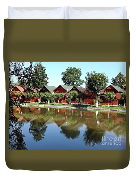 Summer Reflections  Duvet Cover