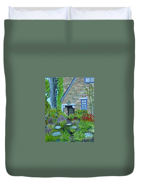 Summer Retreat Duvet Cover
