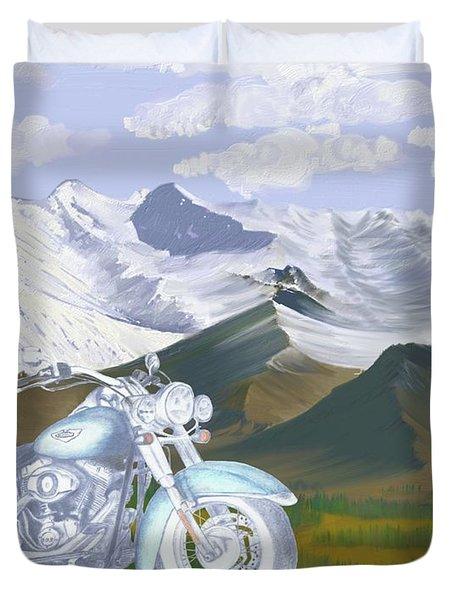 Summer Ride Duvet Cover