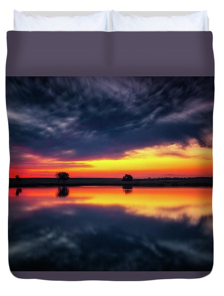 Summer Rises Duvet Cover