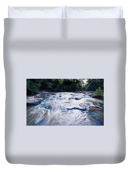 Summer River Duvet Cover