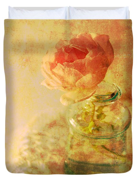 Summer Rose Duvet Cover