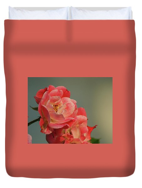 Summer Roses Duvet Cover