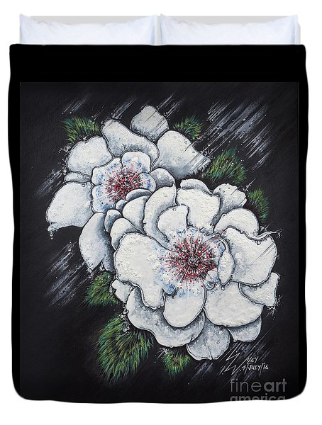 Summer Roses Duvet Cover by Scott and Dixie Wiley