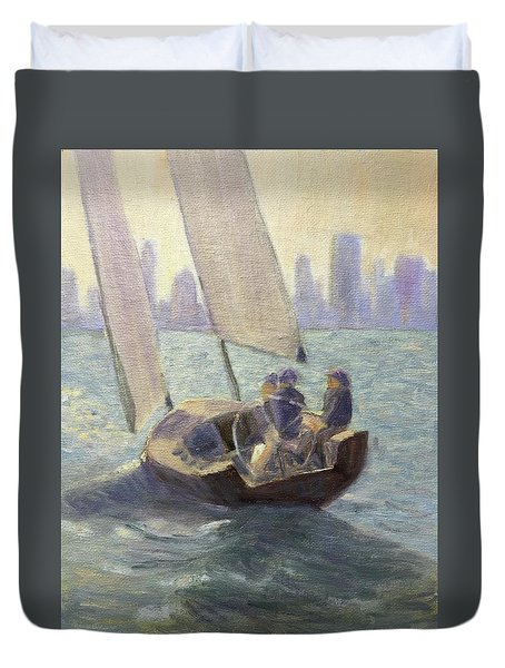 Summer Sail Duvet Cover