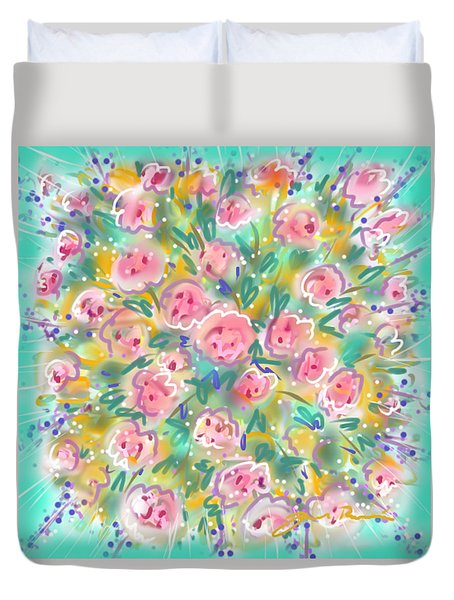 Summer Scarf Duvet Cover
