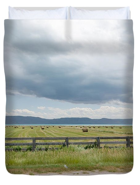 Summer Scene In Northern Utah Duvet Cover