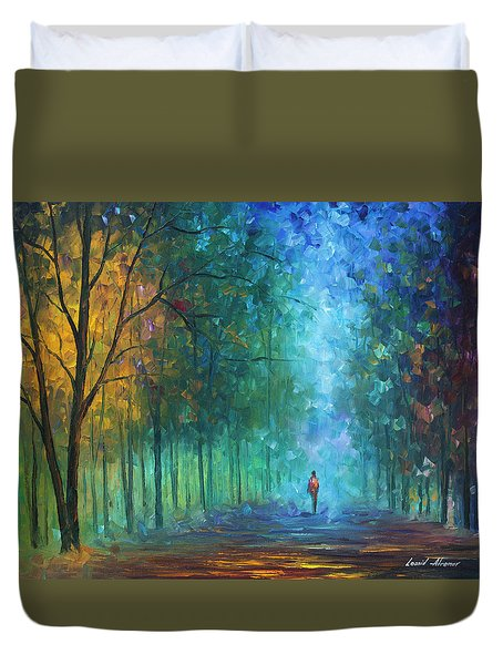 Summer Scent Duvet Cover by Leonid Afremov
